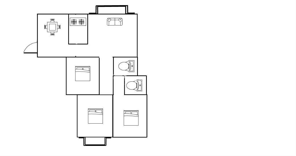 滨江望郡,电梯中层,106小户型3房,划片实验朝阳,175万